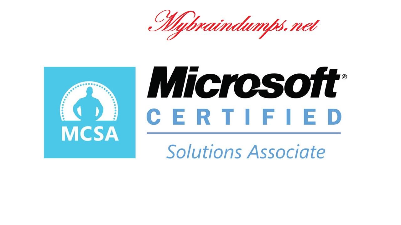 Bimbingan Untuk Mendapatkan Sertifikasi Microsoft MCSA Dan Kegunaannya